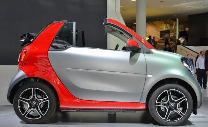 Smart Cabrio Passion 2019 limited-Navi