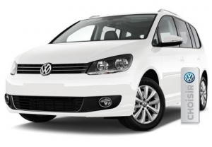 Our New VW Touran automatic for 7 person now online to book